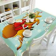3d Santa Claus 48 Tablecloth Table Cover Cloth Birthday Party Event Aj Wallpaper