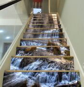 3d Hazy Falls 315 Stairs Risers Decoration Photo Mural Vinyl Decal Wallpaper Us