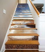3d Drought Lake 32 Stairs Risers Decoration Photo Mural Vinyl Decal Wallpaper Us