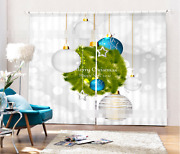 3d Christmas 10 Blockout Photo Curtain Printing Curtains Drapes Fabric Window Ca