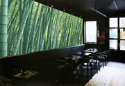 3d Fresh Green Bamboo Forest 29 Wall Paper Wall Print Decal Wall Aj Wall Paper