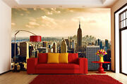 Mega 3d New York Steel Forest Wall Paper Wall Print Decal Wall Deco Indoor Wall