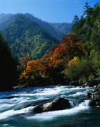 3d Galloping Mountains River 30 Wall Paper Wall Print Decal Wall Aj Wall Paper