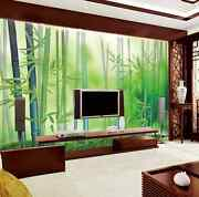3d Fresh And Pure Bamboo Forest 7 Wall Paper Wall Print Decal Wall Aj Wall Paper