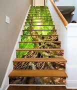 3d Tree Roots 870 Stair Risers Decoration Photo Mural Vinyl Decal Wallpaper Au