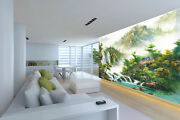 3d Fog Mountain Sceery 782 Wall Paper Wall Print Decal Wall Deco Indoor Wall