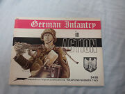 T49. 1973 Booklet - Wwii German Infantry In Action