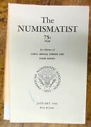 1963 Complete Year The Numismatist Coin Money 12 Issues Collector Book Catalog