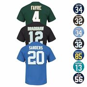 Nfl Eligible Receiver Hof Retired Player Jersey T-shirt Collection - Menand039s