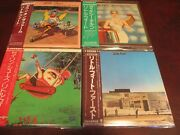 Little Feat Japan Replica Obi 4 Titles S/t Dixie Chicken Sailin Shoes And The Farm