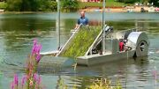 Eco-harvester Aquatic Plant And Weed Cutter Puller Skimmer Lake And Pond Machine