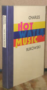 Hot Water Music By Charles Bukowski-signed/numbered First Edition-1983