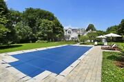Linerworld - 20x40 Mesh Winter Safety Pool Cover For 20and039x40and039 Inground Pool
