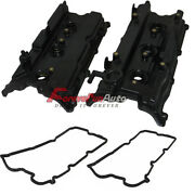 Left And Right Engine Valve Cover, Gasket And Seals For 04-06 Maxima, Altima V6 3.5l