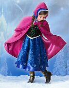 Disney Store Frozen Anna Limited Edition Costume Size 10
