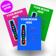 5000 Promotional Thermometer Cards With Bgor Easy Read Thermometer Strip