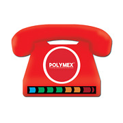 Telephone Lcd Thermometer Fridge Magnets - Perfect For Promotional