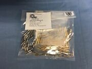 50 New Vpc Virginia Panel 610-103-130 Mini Coax Contact Gold For Rg178 50 Ohm