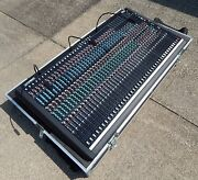 Crest Century Console Andndash Tc Model Andndash 24 X 8 X 2 Andnbspw/caravan Cases And Power Supply