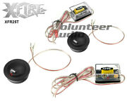 Xfire Xfr25t 1 Dome Tweeters With Crossover System 300w Peak 75w Rms