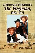 A History Of Televisionand039s The Virginian 1962-1971 [new Book] Paperback