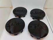 Oem 19333200 High Gloss Black Center Wheel Caps Set Of 4 Full Size And Suv Gm