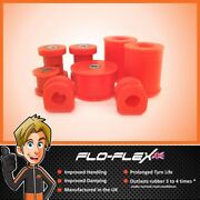 Ford Focus Mk1 And Rs Front Suspension Bush Kit In Poly Polyurethane-flo-flex