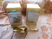 Lg Antique General Store Bins- Spice- Candy- Bins Prouty Soda Fountain -pa.