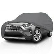 [csc] Waterproof Full Compact Suv Crossover Car Cover For Toyota Rav4 1995-2005