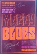 The Moody Blues Signed 2003 An Evening With Concert Poster Hayward Lodge Edge