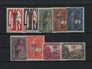Belgium Yvert 272a-272k Orval Complete Set 9 Values 1929 Mnh Vf R76