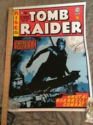 Frank Kozik Autographed Rise Of The Tomb Raider 24x18 Poster Lithograph