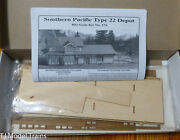 American Model Builders Ho 176 Southern Pac. Type 22 Depot Left Hand