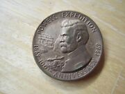 1869-1969 100th Anniversary Powell Expedition State Of Utah Bronze Medal, Maco