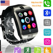 Bluetooth Smart Watch Unlocked Watch Cell Phone For Android Samsung Men Women