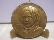 Maria Mitchell Medallic Art Hall Of Fame For Great Americans Bronze