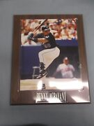 Benny Agbayani New York Mets 8x10 Photo On 10 1/2 X 13 Plaque Engraved Plate