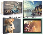 Custom Canvas Print High Quality Your Own Photo Graphic On Artistic Canvas