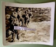 Ww2 Photo Us Soldiers Crossing River In Full Gear World War Two Usa Military Men
