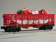 Lionel Christmas Express Hopper And Presents O Gauge Train Holiday 6-82982-h New