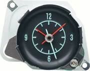 1968-71 Corvette In Dash Clock - With Green Markings