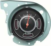 1969 Chevelle Fuel Gauge With Warning Lights