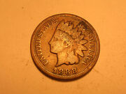 1888/7 Indian Head Cent Now Considered An 1888/8 S-2 And Rare