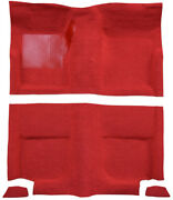 1965-1968 Ford Mustang Fastback Without Folddowns Pass Area 605 Aqua Nylon Mass