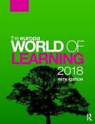 The Europa World Of Learning 2018 English Hardcover Book Free Shipping