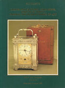 Sotheby's Geneva Snuff Gold Boxes Faberge Russian Vertu Watches Clock Catalog 82