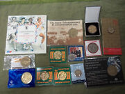 Cc10. 5. Jot Lot Of Coins And Medals