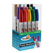 15 Thornton's Fine Oil Based Paint Markers For Rocks, Tile, Metal, Glass, Crafts
