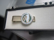 Vintage Owasippe Boy Scout Reservation Chicago Tie Clip Scouting Robbins Mint