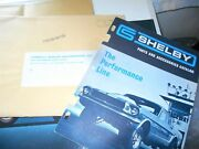 Nos 1967 Shelby Parts And Accessories Catalog In Original Mailing Envelope Rare